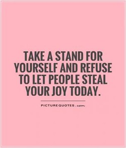 TAKE A STAND FOR 