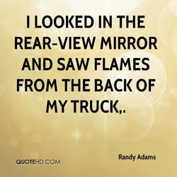 I LOOKED IN THE 