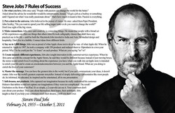 Steve Jobs 7 Rules of Success 
