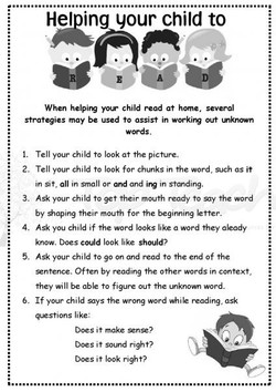 your child to 