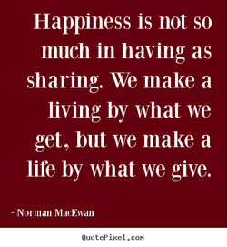 Happiness is not so 