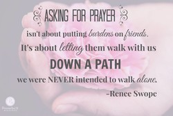 FOR PRAYER 