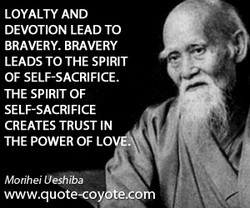 LOYALTY AND 