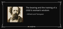 The bearing and the training of a 