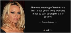 The true meaning of feminism is 