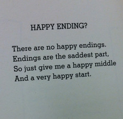 HAPPY ENDING? 