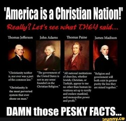 'America is a Christian Nation!' 