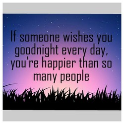 If someone wishes you 