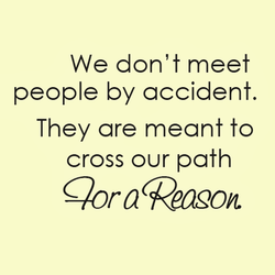 We don't meet 