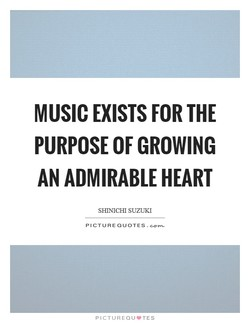 MUSIC EXISTS FOR THE 