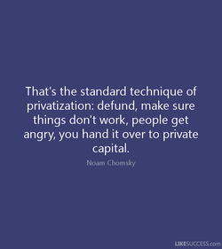 That's the standard technique of 