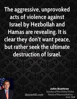 The aggressive, unprovoked 