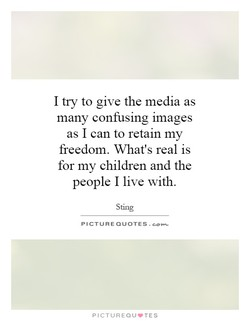 I try to give the media as 