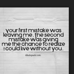 your first mistake was 