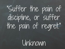 ICuffer Ine pain of 