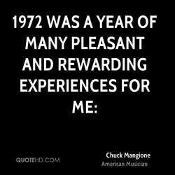 1972 WAS A YEAR OF 