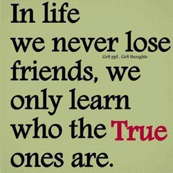 In life 