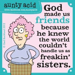 aunty acid God 