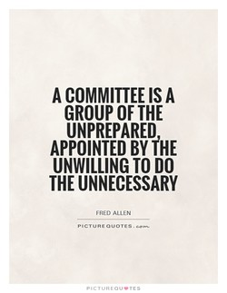 A COMMITTEE A 