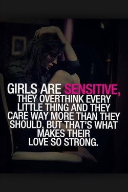 GIRLS ARE SITIVE, 