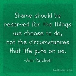 Shame should be 