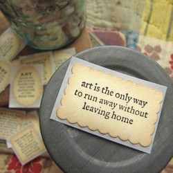 art is the only way ) 