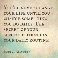 YOU'LL NEVER CHANGE 