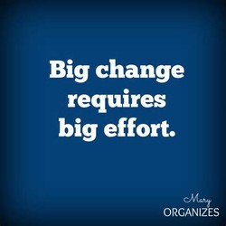 Big change 