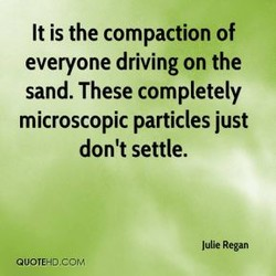 It is the compaction of 
