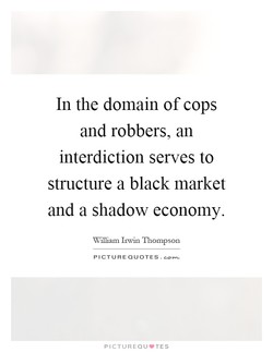 In the domain of cops 
