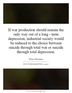 If war production should remain the 