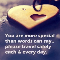 You are more special 