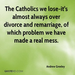 The Catholics we lose-it's 
