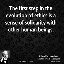 The first step in the 