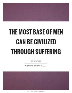 THE MOST BASE OF MEN 