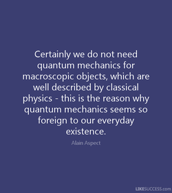Certainly we do not need 