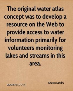 The original water atlas 