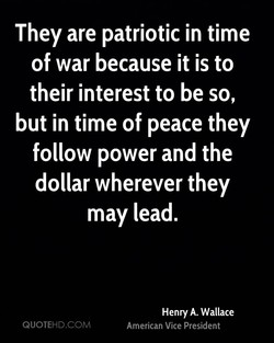 They are patriotic in time 