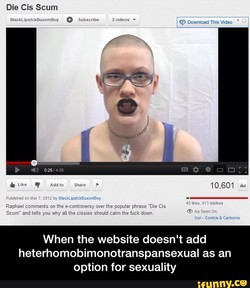 Die Cis Scum 