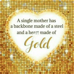 A single mother has 