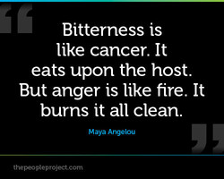 Bitterness is 