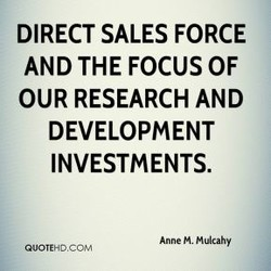 DIRECT SALES FORCE