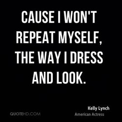 CAUSE I WON'T 