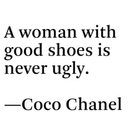 A woman with 