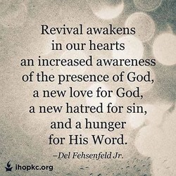 Revival awakens 