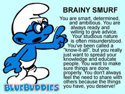 BRAINY SMURF 