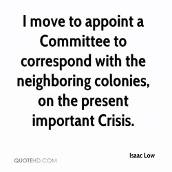 I move to appoint a 