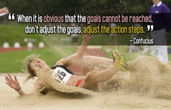 When it is obvious that the goals cannot be reached, 