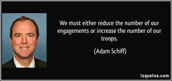 We must either reduce the number of our 