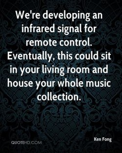We're developing an 